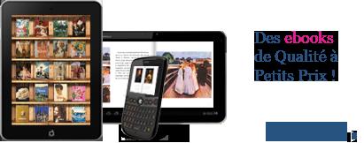 Des ebooks de qualité à petits prix !