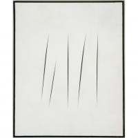 Lucio Fontana : Ouvrez-moi donc cette toile