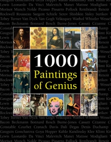 1000 Paintings of Genius