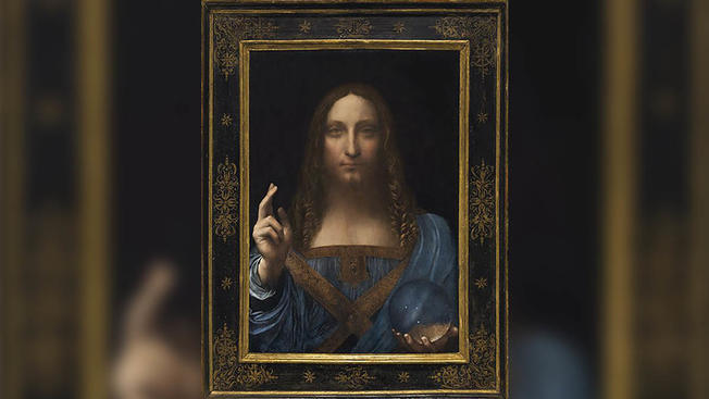 "Leonardo da Vinci's painting ""Salvator Mundi"" was acquired by UAE at $450 million"